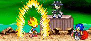 Legandary Super Sonic Awaken by MyPicts