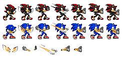 Final Flash sprite (Sonic Style)