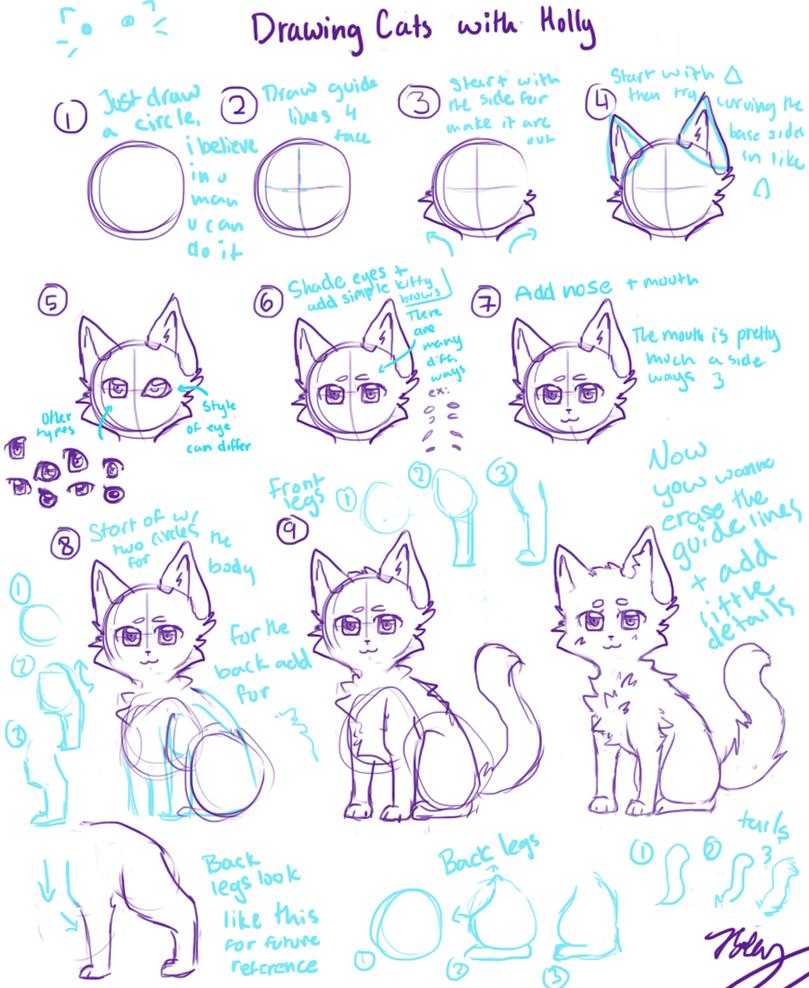 Cat TUTORIAL (anime Style) By DAChibiii On DeviantArt