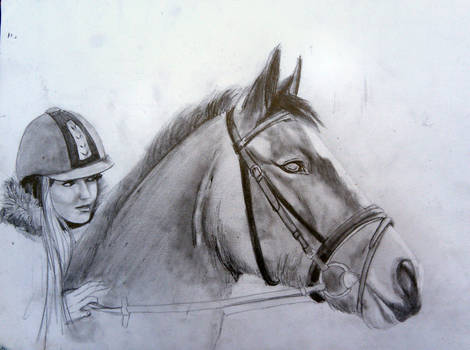 2012-10-10 Horse and Girl 1