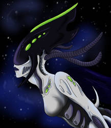 Spacemaid by XenoQueenArt