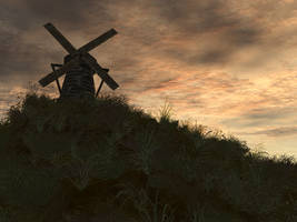 The Wind Mill by silversword9