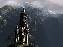 Wizard's Tower by silversword9