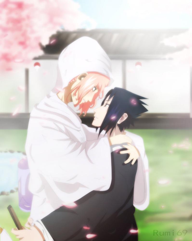 قصة لساسكي و ساكورا school days Sasusaku_wedding_day_by_rumi69-d3gtiee