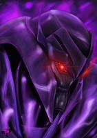 gaze of insanity or Megatrons gaze by Xx-Antares-xX