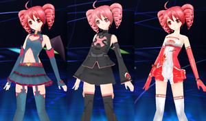 Project DIVA extend Custom DLC - Kasane Teto Pack
