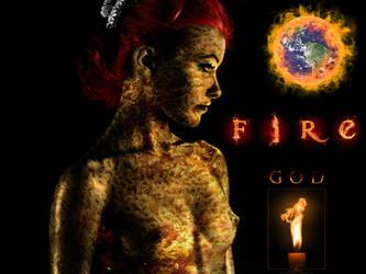 Fire God by kreepychris