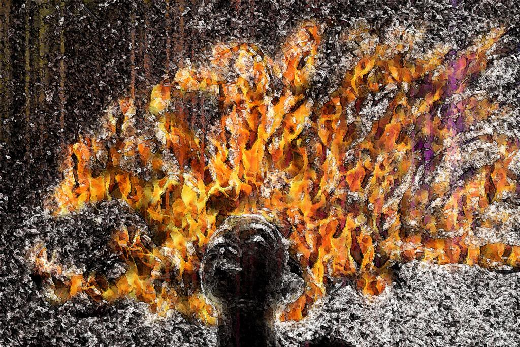 Fire Hair by kreepychris