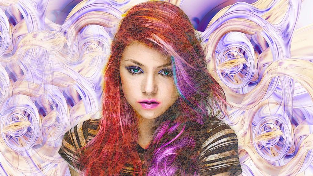 Girl In Color by kreepychris