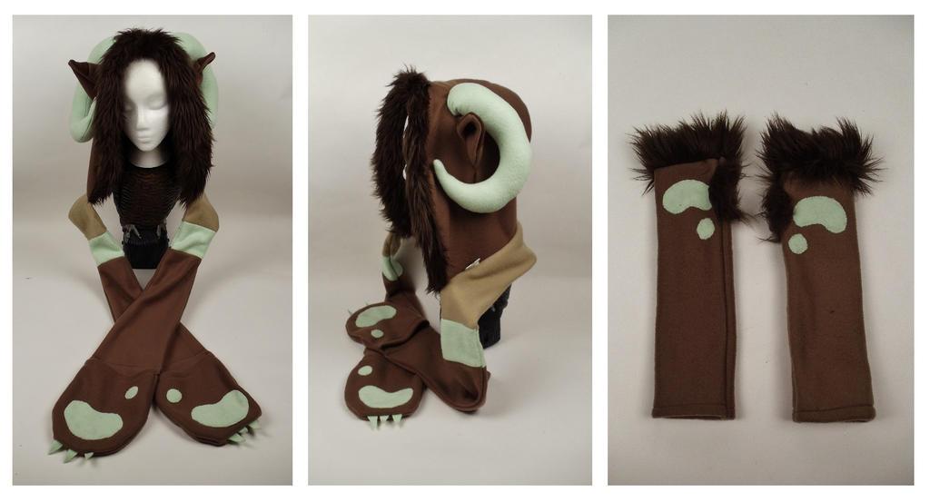 Milly Scoodie + Arm warmers by Mermade4u