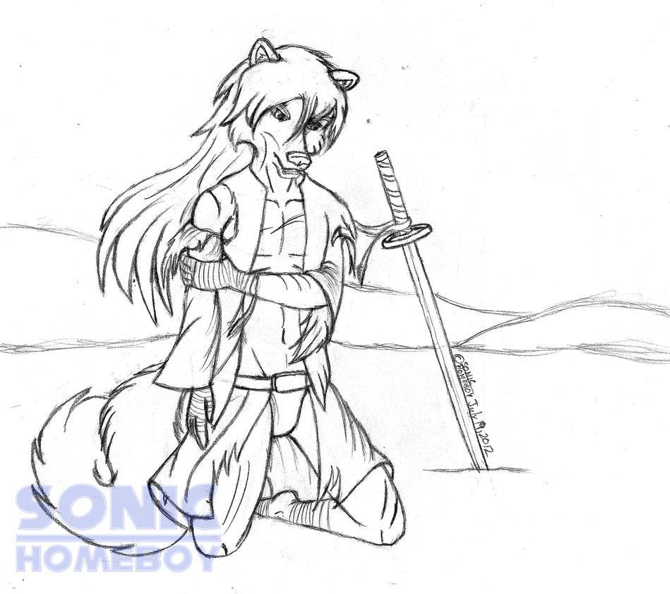 Battle Torn Raul Xi by SonicHomeboy