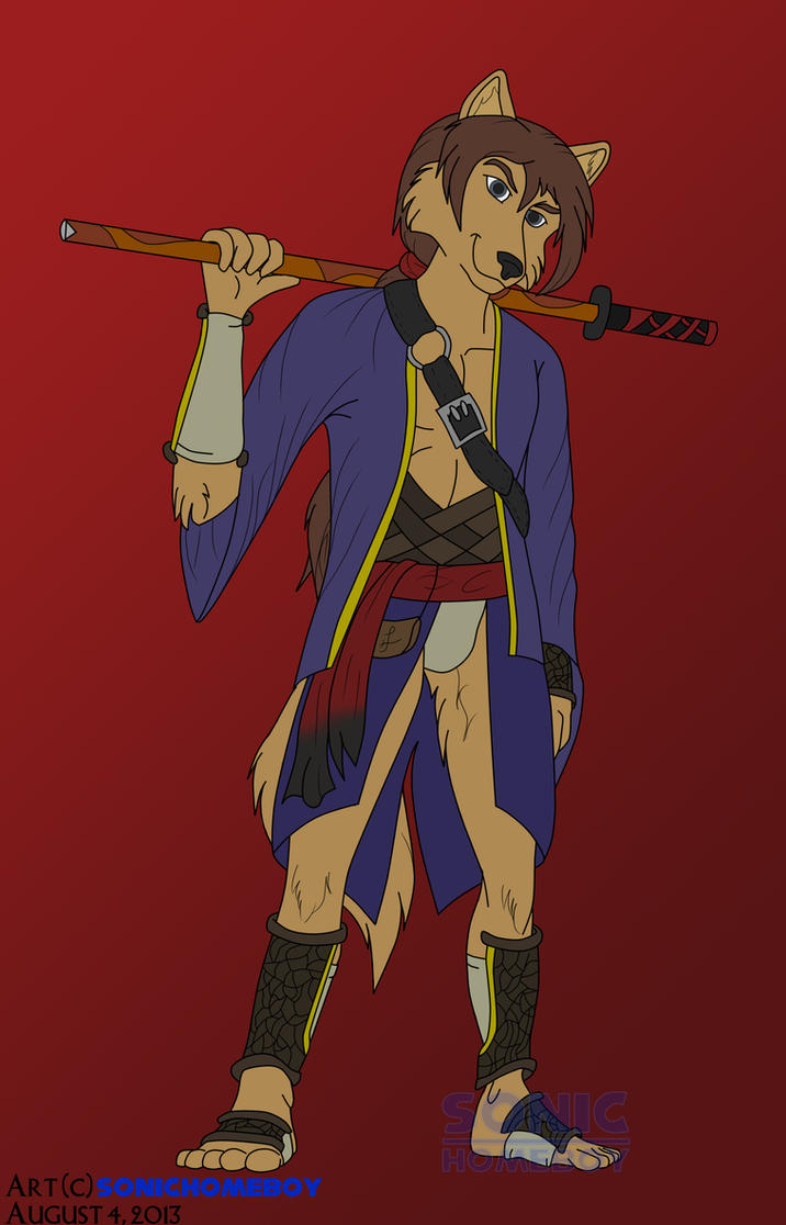 Feralys Fighter Raul Xi by SonicHomeboy
