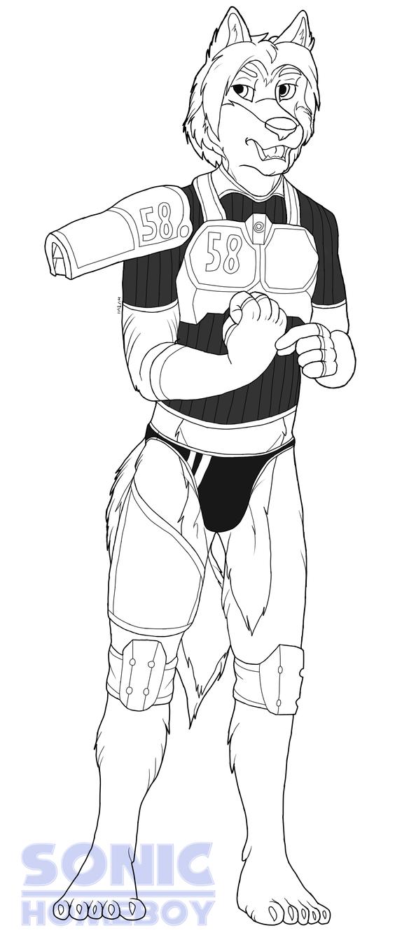 Animal Gunwarrior No. 58 Eddie by SonicHomeboy
