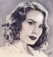 Agent Carter by Greenpuffle