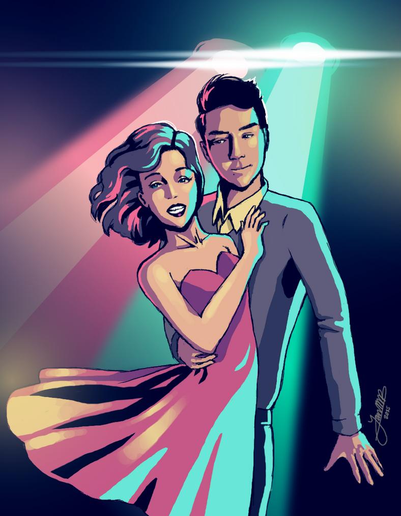 Dance Hall Days, Love. by Greenpuffle