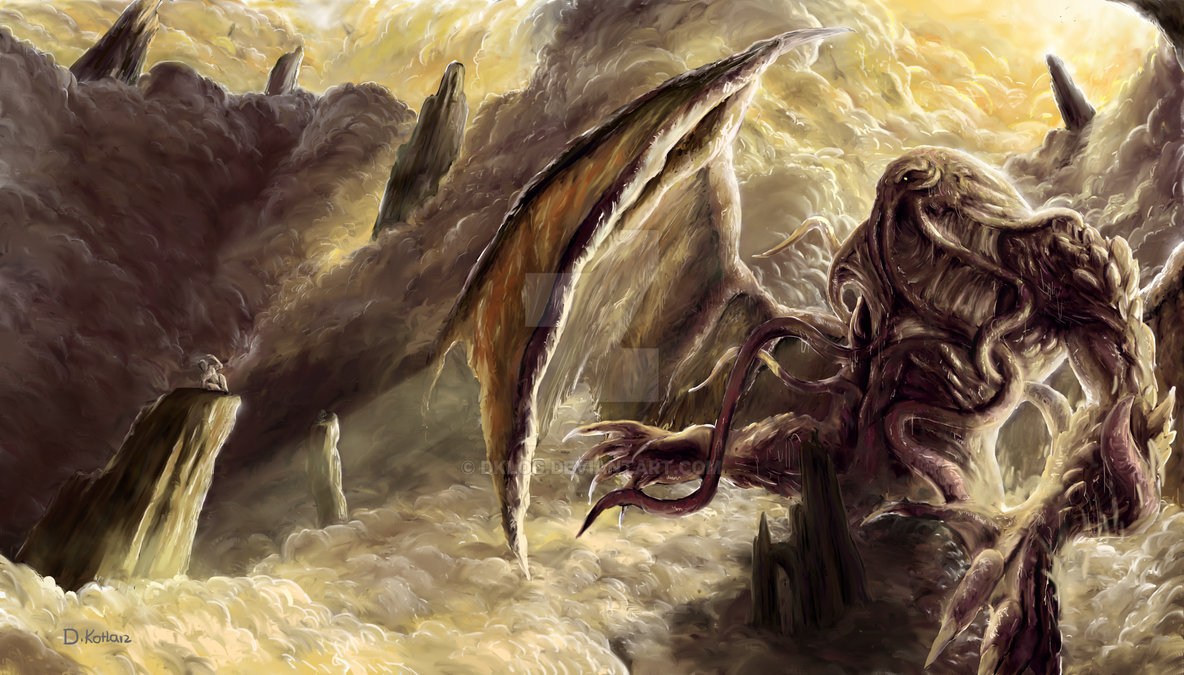 Realm Of Cthulhu by DKlog