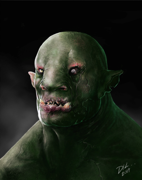Orc by DKlog