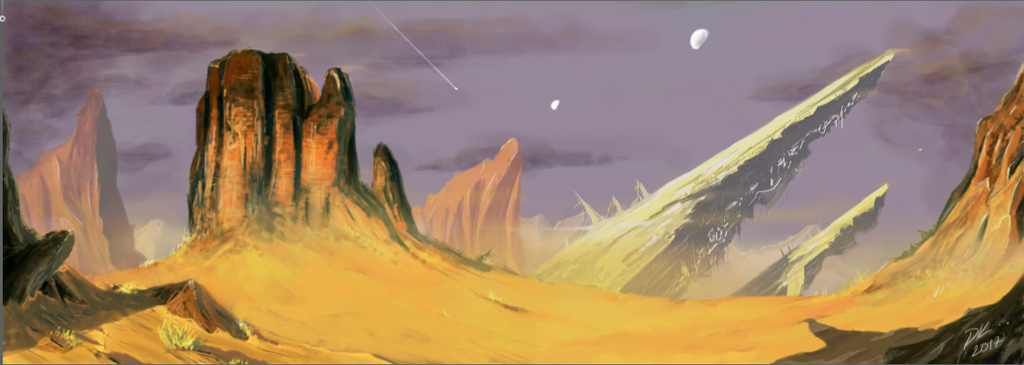 Desert by DKlog