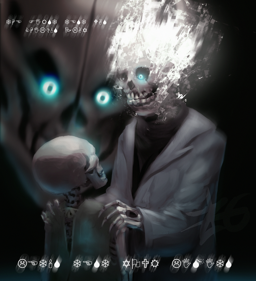 how to go into gasters room undertale