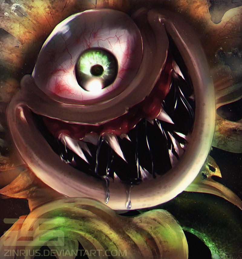 Horrortale - Flowey the Flower