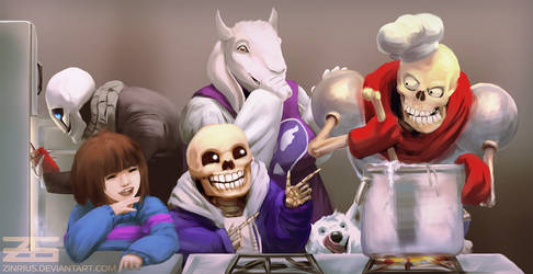 Undertale - My Underground Family