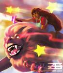 Steven Universe - Stevonnie and Lion by Zinrius