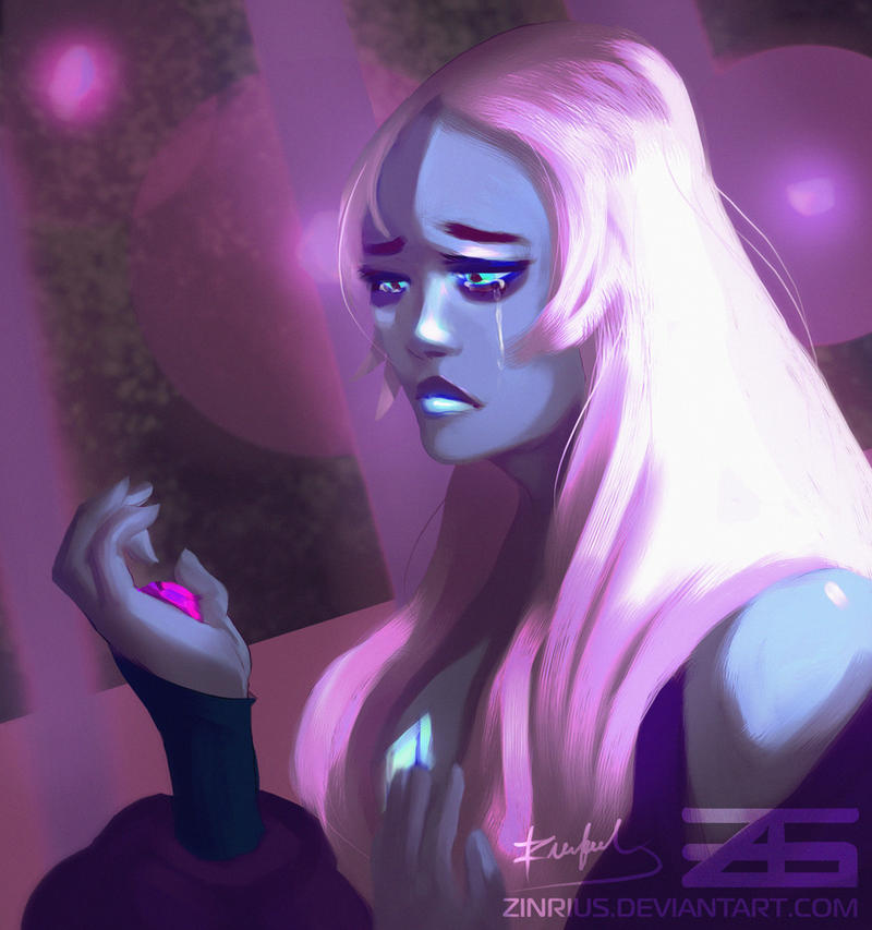 Blue Diamond from Cartoon Network's Steven Universe!  ~ I just saw the Steven Bomb   Holy cow ....  So I bumped into the leaked videos at 1 am bench watched them, s...