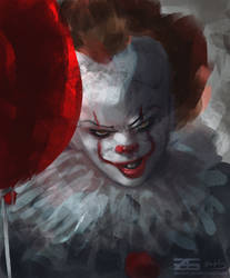 IT - Pennywise by Zinrius