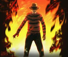 Freddy Krueger by Zinrius