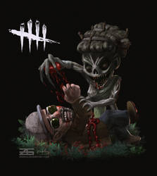 Dead by Daylight - Smol Hag and Ace by Zinrius