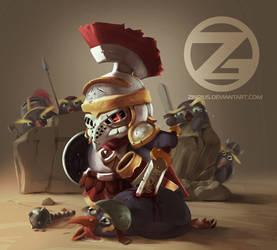 Pengurion Soldier by Zinrius