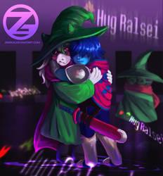 Deltarune - *HUG RALSEI* by Zinrius