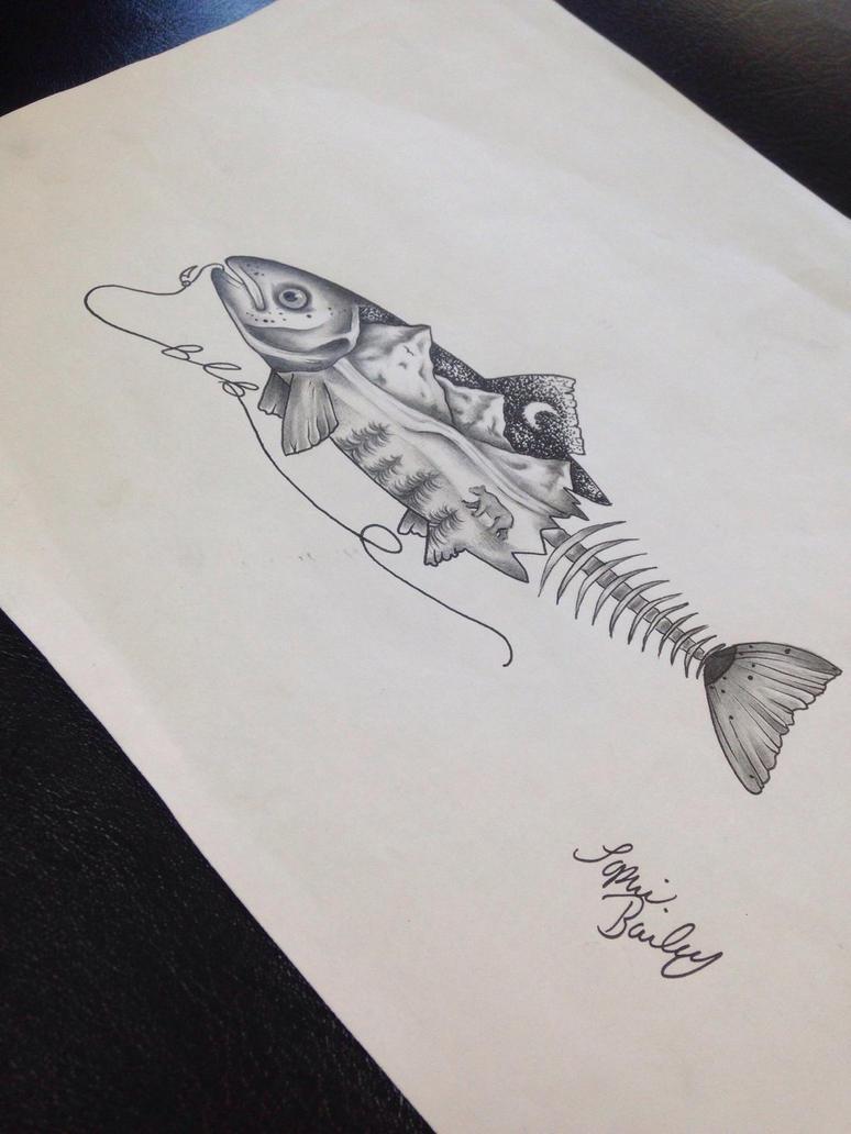Tattoo design by sophieBaileyart