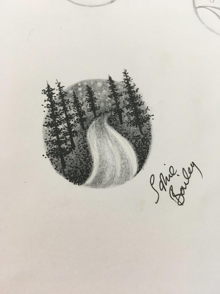 Miniature forest by sophieBaileyart