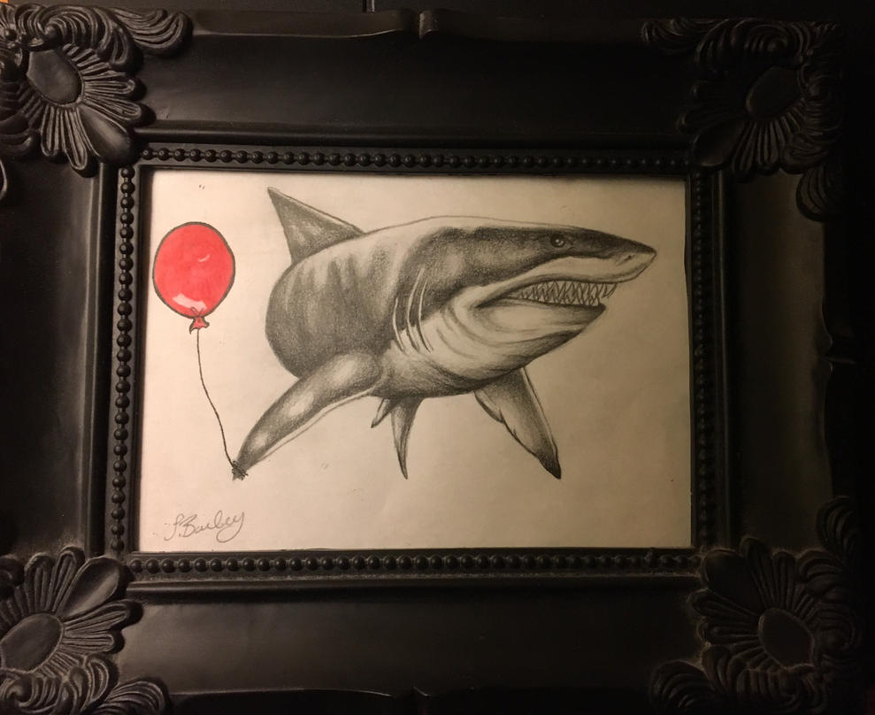 Sharky  by sophieBaileyart
