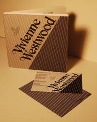 Viviene Westwood Catalog and Invite