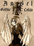 Gothic lolita _sepia version_