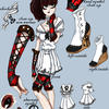 Neo-victorian Sailor dress by Em-E-chan