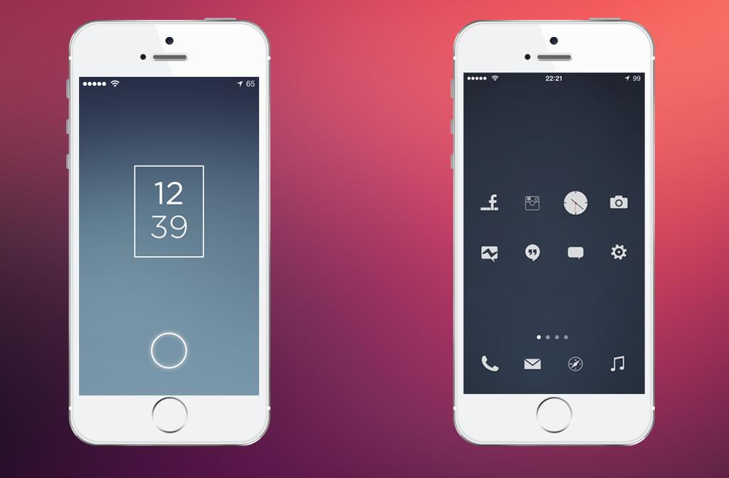 minimal iOS by flass