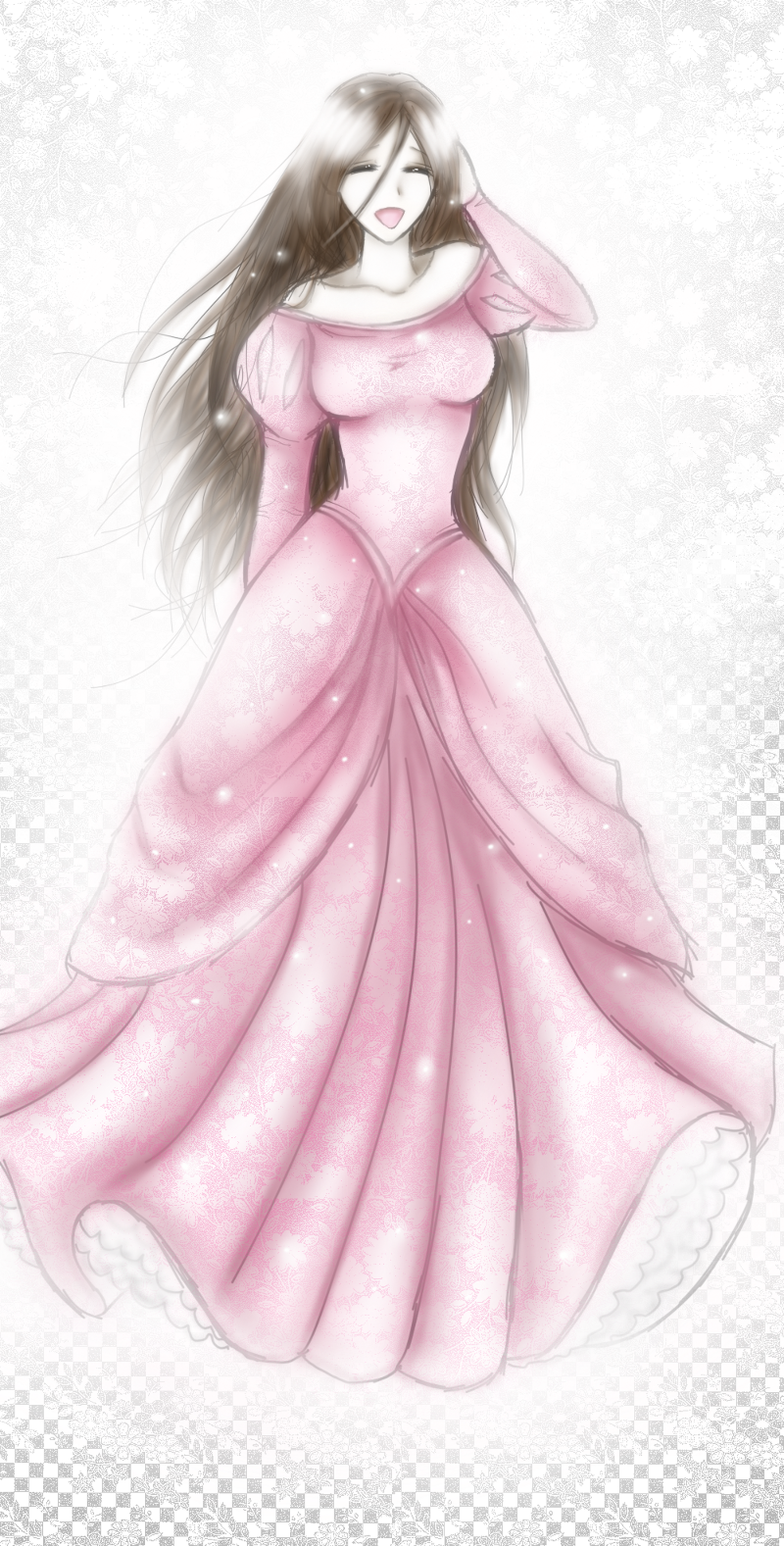 Anime Girl in Ball Gown _Other dresses_dressesss