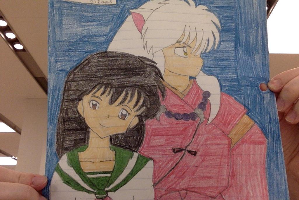 kagome and inuyasha #2 by mariko85