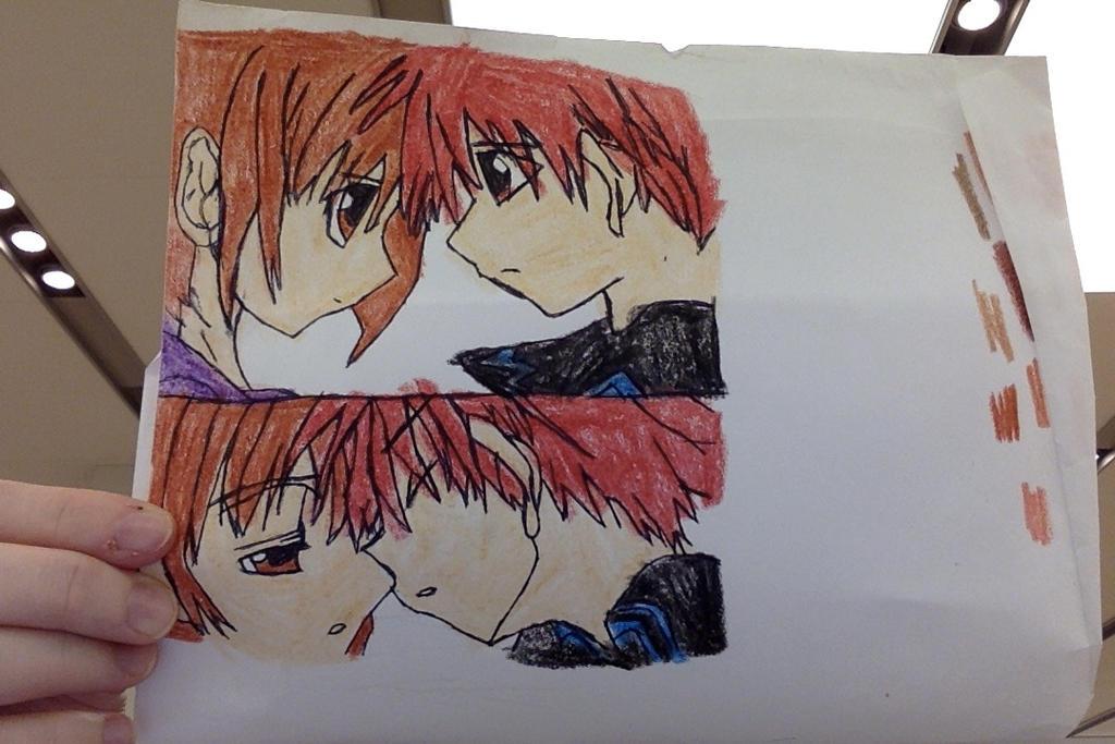 daisuke and riku by mariko85