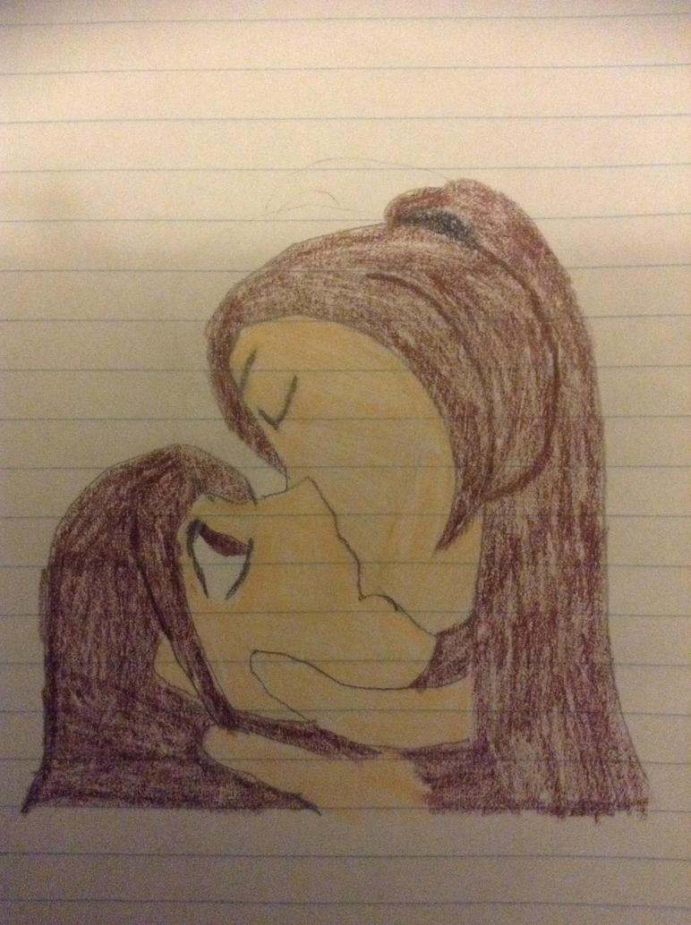 Sedon forced kiss on serenity-arata by mariko85
