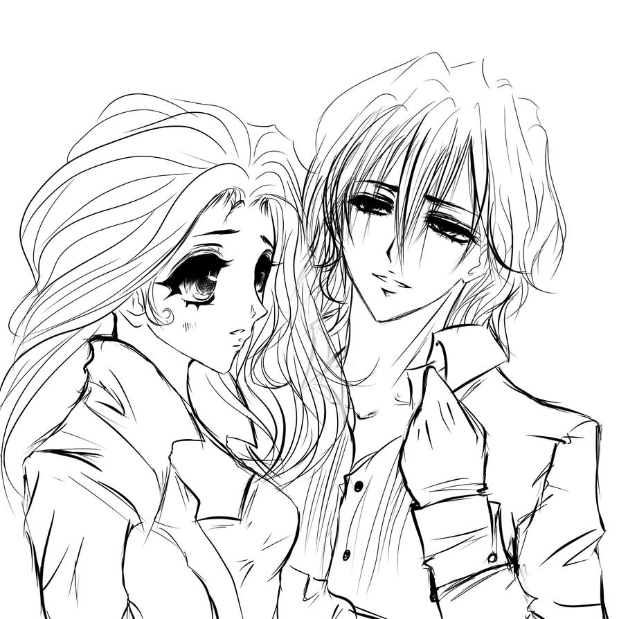 OC Lydia and Kaname- vampire knight part 1 by mariko85