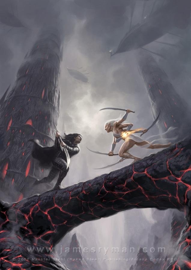 Combat héroïque dans Fantastique Dark_Elves_by_namesjames