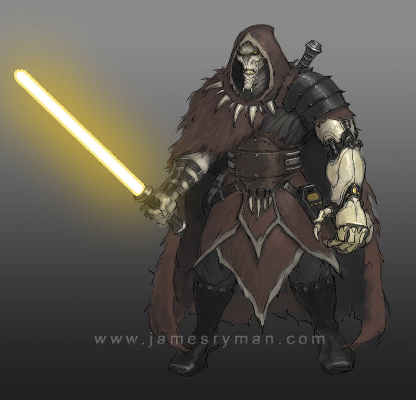 Darkside Bounty Hunter by namesjames