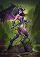 Warcraft - Succubus by JamesRyman