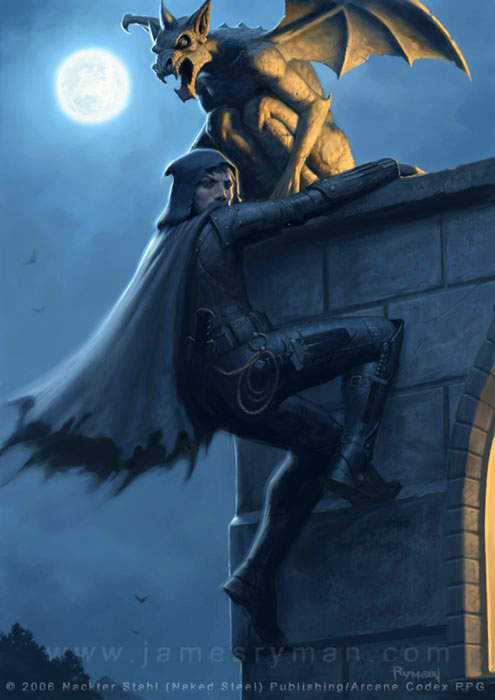Fantasy art thief - photo#21