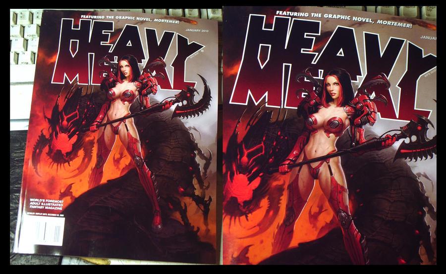 Heavy Metal Magazine Shots By Namesjames