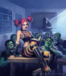 Misty Zombie School by JamesRyman